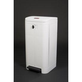 Rubbermaid Step-On affaldsbeholder,100 liter,hvid