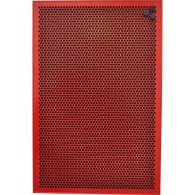 Vanerum Contact Opal opslagstavle 90x120 cm, rød