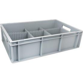 Opfyldningskasse 34 liter inkl. opdelere