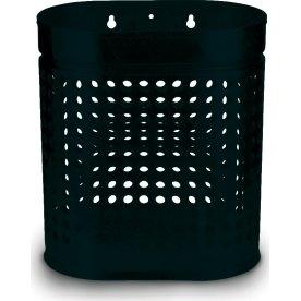 RMIG affaldsspand type 536U, sort blank