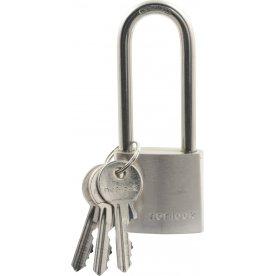 Nor-Lock hængelås m/lang bøjle, 38 mm