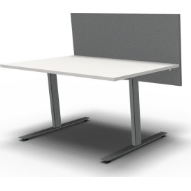 Easy bordskærmvæg H65xB100 cm grå