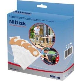 Nilfisk filterpose til Nilfisk Buddy, 4 stk.