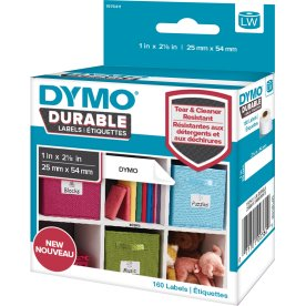 Dymo LabelWriter Durable etiketter str. 25 x 54 mm