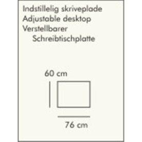 ABC skriveplade, 60x76 cm, natur