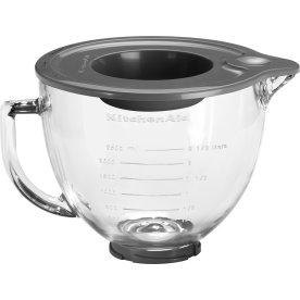 KitchenAid Artisan Glasskål, 4,8l, klar