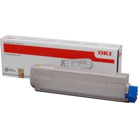 OKI 44844505 lasertoner, gul, 10.000s.