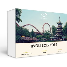 Oplevelsesgave - Tivoli Sølvkort 2017/2018