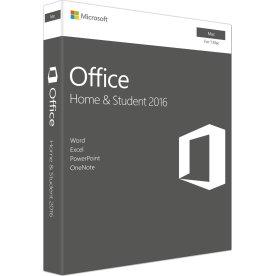 Microsoft Office Mac Home & Student 2016 (NORDIC)