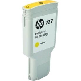 HP 727 DesignJet blækpatron, 300ml, gul