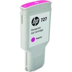 HP 727 DesignJet blækpatron, 300ml, rød
