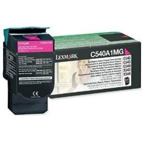 Lexmark C540A1MG lasertoner, rød, 1000s