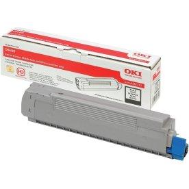 OKI 44992402 lasertoner, sort, 2.500s