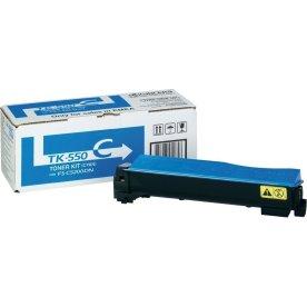 Kyocera TK-550C lasertoner, blå, 6000s