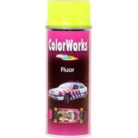 ColorWorks hobbyspray, fluorescerende gul