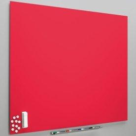 Vanerum Diamant whiteboard 118x200, rød