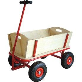 Trækvogn 100 kg, Luftgummihjul,94x61,5x98 cm