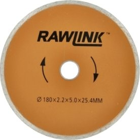 Rawlink diamantklinge, 180 mm