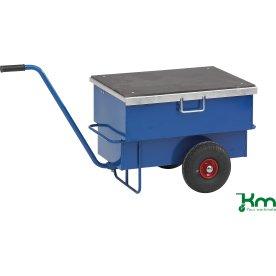 Værktøjsvogn 160 liter, 940x600x610, luftgummihjul