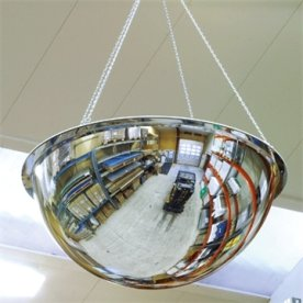 Spejlkuppel akryl 360 grader ø90 cm