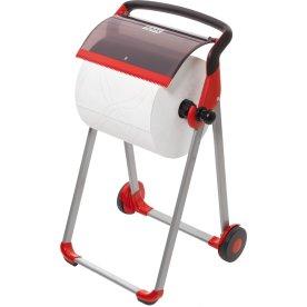 Tork W1 Gulvstativ, sort/rød