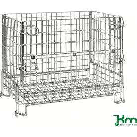 Trådkurv fold- og stabelbar, 1200x800x980, 1000 kg