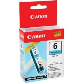 Canon BCI-6PC blækpatron, fotoblå, 280s