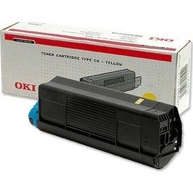 OKI 42127405 lasertoner, gul, 5000s