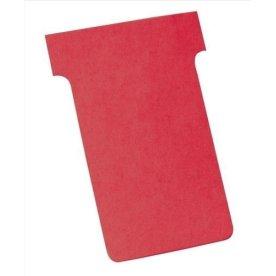 Kort til vægplanner 100 stk, rød