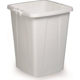 Affaldsspand 90 l, 510x487x630, Hvid