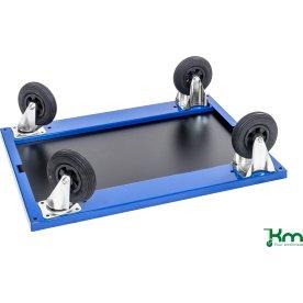 Udskiftning til luftgummihjul - 2xdreje, 2xfast