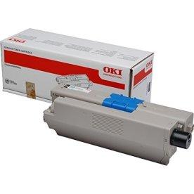OKI 46508712 Lasertoner, Sort, 3500s.