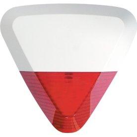 Udendørs sirene med flash til SikkertHjem alarmer