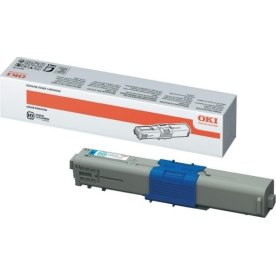OKI 46490403 Lasertoner, blå, 1500s.