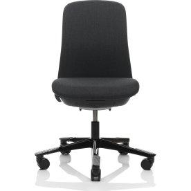 HÅG Sofi kontorstol sort stel, sort comfort stof