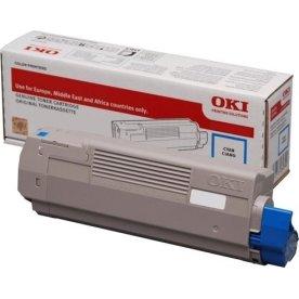OKI 46443103 lasertoner, blå, 10.000s