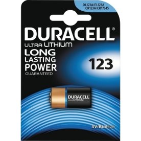 Duracell CR123 Batteri