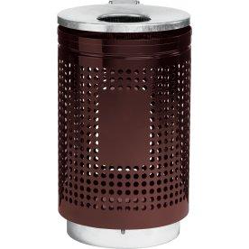 RMIG affaldsspand type 823U, brun