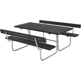 Plus Classic bord-bænkesæt m. ryg, Genbrugsplast