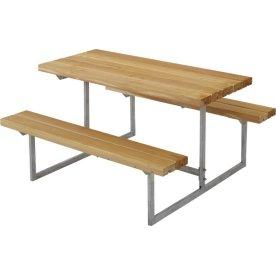 Plus Basic bord-bænkesæt til børn, Lærk