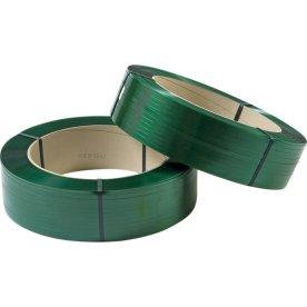 Maskinbånd PET Ø406 mm, 300 kg, grøn, 2500 m
