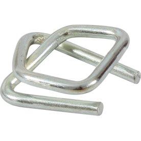 Metalspænder til 12 mm strapbånd, 1000 stk.