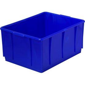 Lagerkasse 23 l, Blå, (LxBxH) 420x320x210 mm