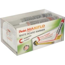 Pentel Maxiflo Magnetisk visker inkl. 4 penne