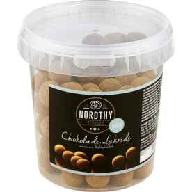 Nordthy Lakridskugler m/chokolade - Mild, 500 g