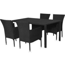 Bologna havemøbelsæt til 4 pers. - luksusstole