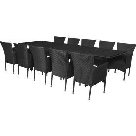 Lazio havemøbelsæt, 10 pers. m/udtræk, luksusstole