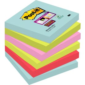 Post-it Super Sticky Notes 76 x 76 mm, Miami