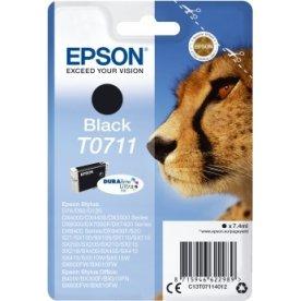 Epson nr.T0711/C13T07114012 blækpatron, sort, 240s