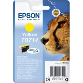 Epson nr.T0714/C13T07144012 blækpatron, gul, 280s